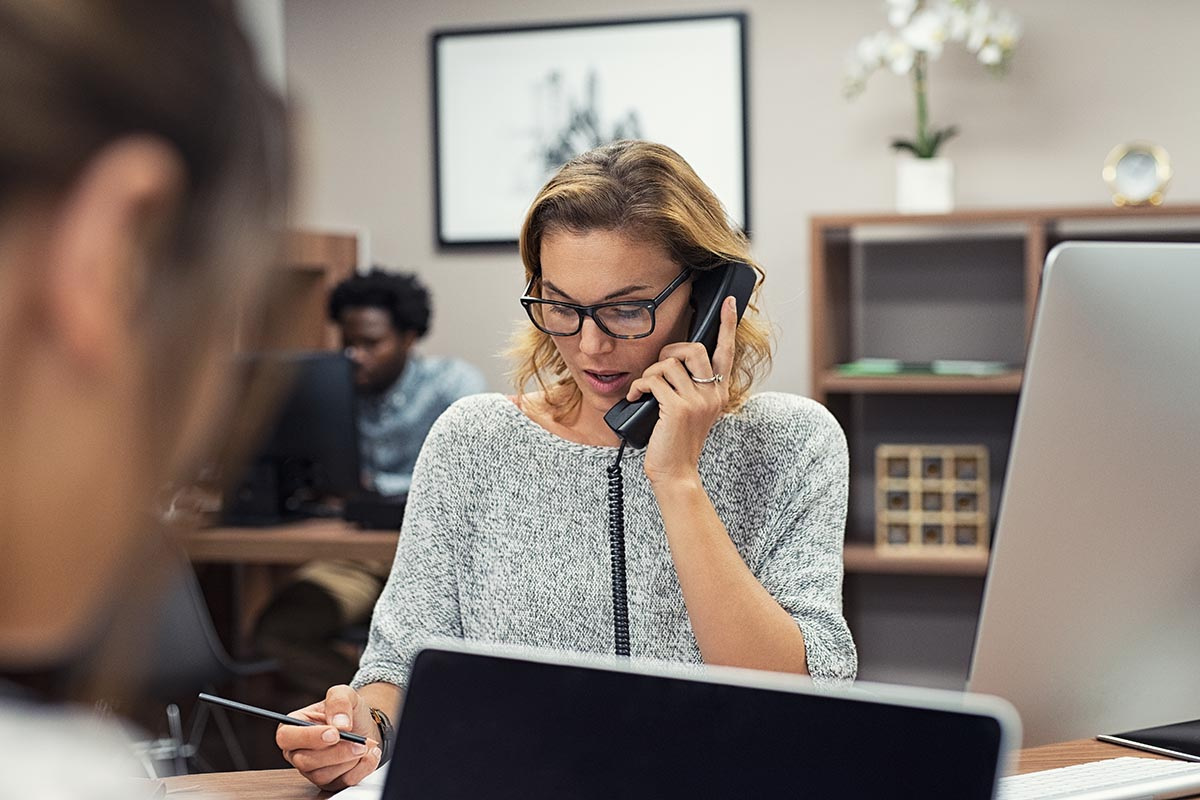 In ambito lavorativo, le linee telefoniche ricoprono un ruolo fondamentale